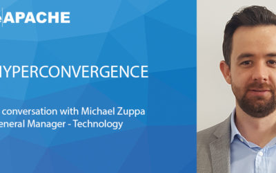 Hyperconvergence – In conversation with Michael Zuppa, GM of Technology at blueAPACHE