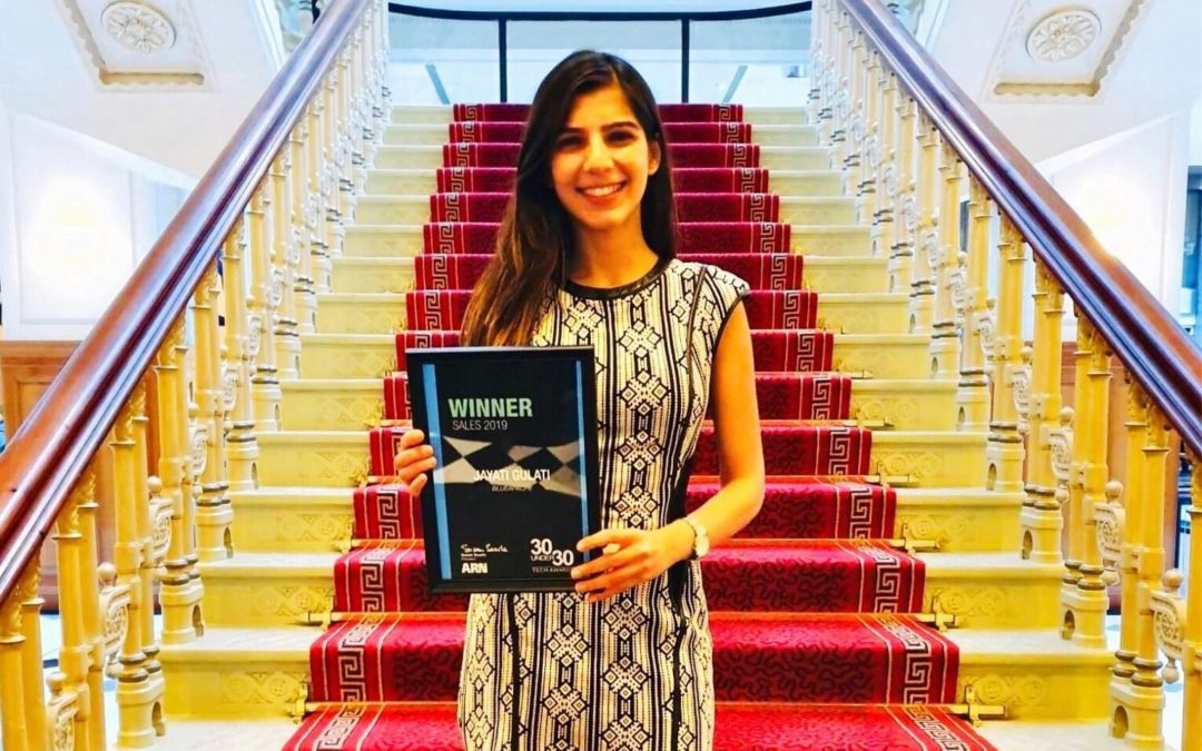 We have a winner! Jayati Gulati recognised with ARN 30 Under 30 Sales Excellence Award